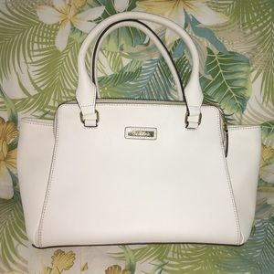 Gorgeous new white leather Calvin Klein bag
